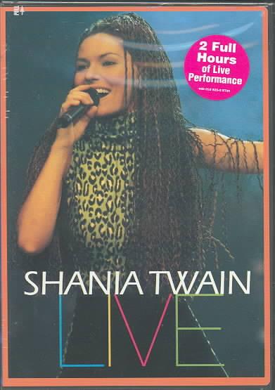 SHANIA TWAIN LIVE BY TWAIN,SHANIA (DVD)